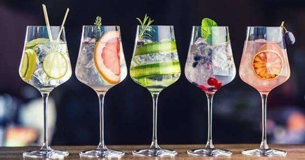 peak of gin sales