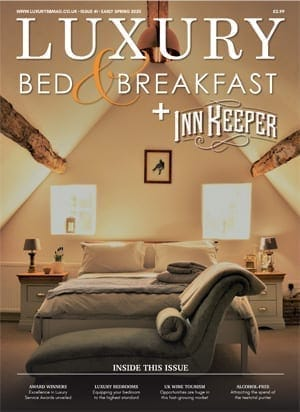 Luxury BnB Magazine +InnKeeper, Early Spring