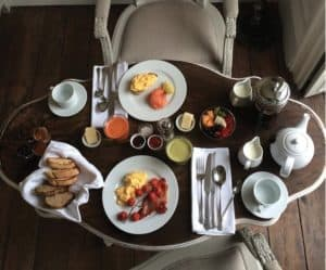 ROOM SERVICE BREAKFAST @ THE READING ROOMS MARGATE