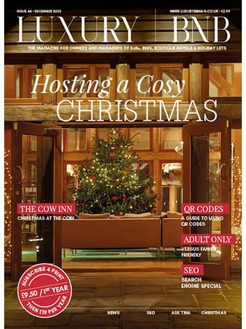 Luxury BnB Magazine Christmas 2020
