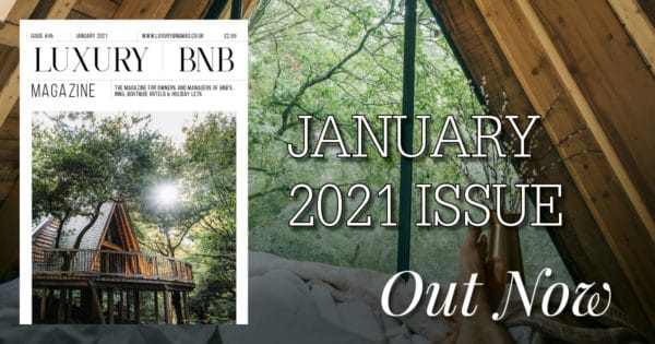 January Issue of Luxury BnB Out now